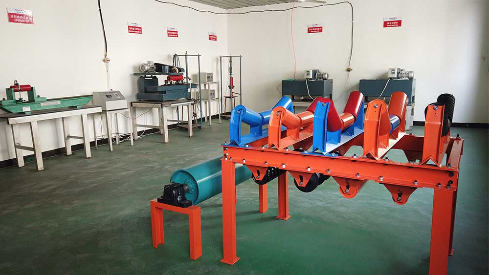 conveyor idler roller test machine